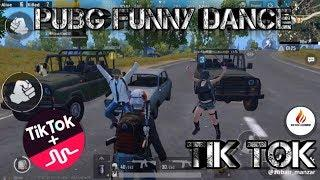 PUBG FUNNY DANCE FOR PUBG LOVER|| PUBG FUNNY MOMENTS, DANCE,WTF VIDEO BY TIK TOK LEGENDRY