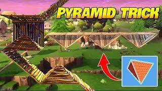 *TRICK* HOW TO USE PYRAMIDS BUILD | Fortnite Twitch Funny Moments #150