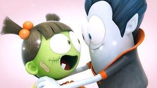 Spookiz | Zombies Fall In Love | 스푸키즈 | Funny Cartoon | Kids Cartoons | Videos for Kids