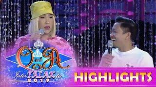 It's Showtime Miss Q & A: Vice Ganda jokes about the contestant's hair