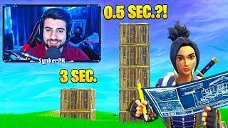 SypherPK *GENIUS* FAST BUILD TRICK! (YOU NEED TO TRY!) - Fortnite Funny Moments
