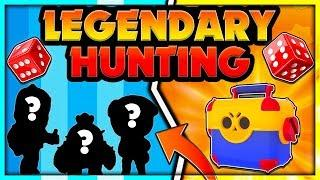 LEGENDARY HUNTING - Insanely Lucky Legendary Unboxing in Brawl Stars - Funny Reaction