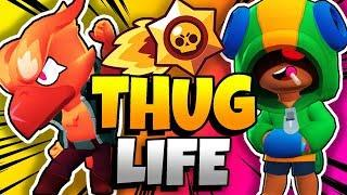 BRAWL STARS THUG LIFE: Funny Moments EP. 34 (Brawl Stars Epic Wins & Fails)
