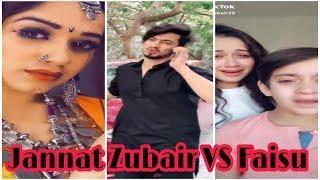 Jannat Zubair Vs Mr Faisu Team 07 Tik Tok Stars Funny 1M Vines Videos