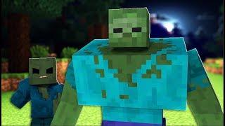 Modded Left 4 Dead 2 Minecraft Mod Funny Moments #2 - Fighting Waves Of Zombies and Skeletons