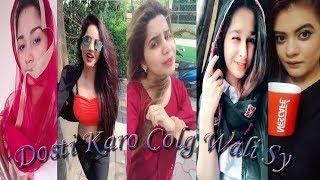 Dosti Karo Collage wali sy | Musically Funny Videos | Musical.ly Stars compilation