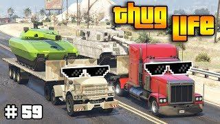 GTA 5 ONLINE : THUG LIFE AND FUNNY MOMENTS (WINS, STUNTS AND FAILS #59)