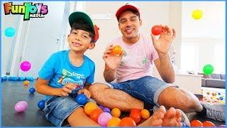 Funny Colors Ball Pits Jokes with Jason and his Brother