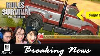 "Rules Of Survival PH Funny Moments - "" ROS Breaking NEWS! "" Part 25 (Tagalog)"