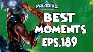 Paladins BEST & FUNNY MOMENTS EPS.189