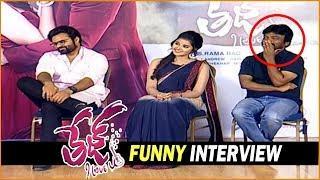 Tej I love You Movie Team Funny Interview || Sai Dharam Tej, Anupama Parameswaran, Karunakaran