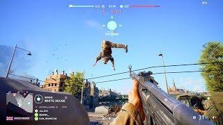 Battlefield V Beta - Random & Funny Moments #1 (V1 Rocket To The Face!)