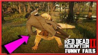 Funny Fails & Best RDR2 Moments #43 (Red Dead Redemption 2) - LoL Videos