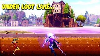Jumping Under New Loot Lake..! | Fortnite Twitch Funny Moments #188