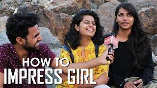 How To Impress Attitude Girls Fall In Love | Mumbai Funny Girls Open Talk | Public Review