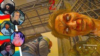 Streamers React to World War Z Zombie Funny Moments #2 (WWZ)