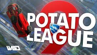 POTATO LEAGUE #9 | Rocket League Funny Moments & Fails