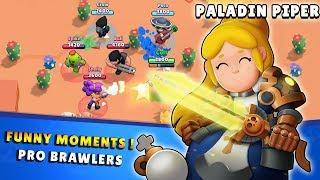 Funny Moments with PRO BRAWLERS 300 IQ Brawl Stars 2019