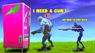 When Zombies use Vending Machine..! | Fortnite Twitch Funny Moments #245