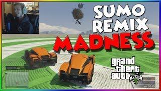 Little Time, Little Circle. 2v3 Sumo Remix Against STRANGERS! (GTA 5 Funny Moments)