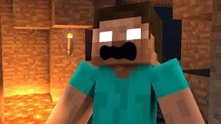 Top 5 Funny LOVE HEROBRINE VS. NOOB Minecraft Videos ( Minecraft Animations )