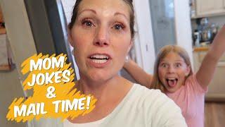 Mom Jokes, Mail Time & Shopping!!!