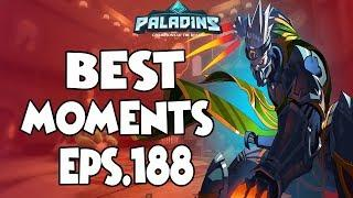 Paladins BEST & FUNNY MOMENTS EPS.188