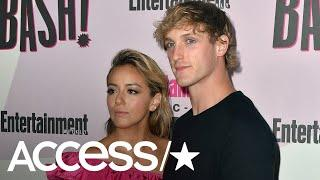 Logan Paul Jokes About 'Sexy Time' With Girlfriend Chloe Bennet At The Louvre | Access