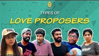 Types of Love Proposers | Funny versions of Love proposals | Malayalam comedy | Ponmutta