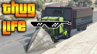 GTA 5 ONLINE : THUG LIFE AND FUNNY MOMENTS (WINS, STUNTS AND FAILS #23)