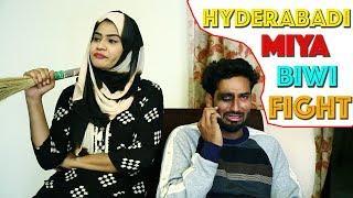 Hyderabadi Miya Biwi Fight Part-4 Latest Funny Comedy ||Directed By jhon veeran