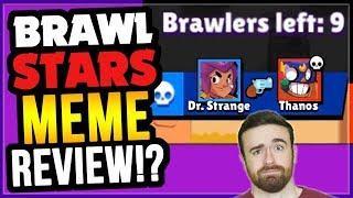 The Best Brawl Stars MEMES?! Brawl Stars Funny Meme Review