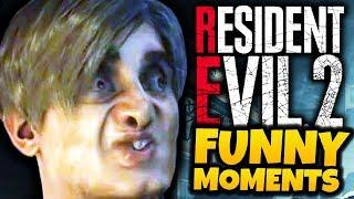 WHAT IS GOING ON?! - Resident Evil 2 Remake Funny Moments