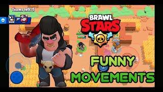 Brawl Stars Bull Funny Movements! Brawl Stars Bull