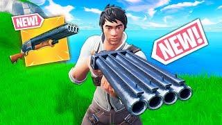 *NEW* DOUBLE SHOTGUN  GLITCH!! - Fortnite Funny WTF Fails and Daily Best Moments Ep. 889