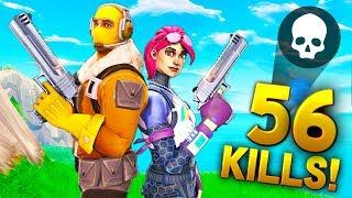 *NEW BEST* 56 KILL DUO RECORD!! - Fortnite Funny WTF Fails and Daily Best Moments Ep.936