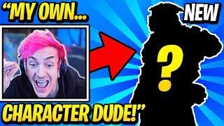 Ninja Get's His Own Character In APEX LEGENDS?! (Apex Legends Funny Moments)