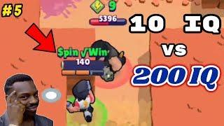 10 IQ or 200 IQ in Brawl Stars Part 5 Gameplay 2019 |Funny Moments ,Fails ,Glitches Montage | 300 IQ