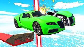DODGE The LASER Or GET SPLIT! (GTA 5 Funny Moments)