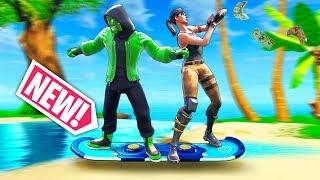 *NEW* OP HOVERBOARD TRICK!! - Fortnite Funny WTF Fails and Daily Best Moments Ep.982