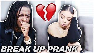 BREAK UP PRANK ON APRIL FOOLS DAY ????