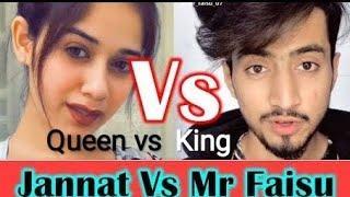 Jannat Zubair Vs Faisu Team 07 Tik Tok Stars Funny  Videos Compilation