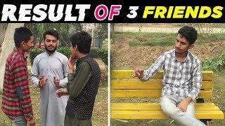 RESULT OF THREE (3) Friends |-FUNNY STARS