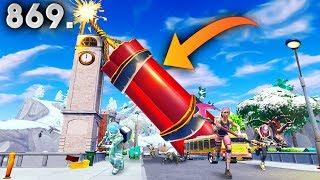 GIANT DYNAMITE BUG!! - Fortnite Funny WTF Fails and Daily Best Moments Ep. 869